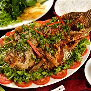 Cùng Mua - Ca tai tuong 900gr tai Nha hang Suong Dem