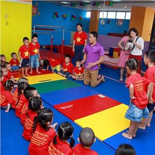Cùng Mua - Goi hoc gym cho tre em 1 thang tai Fun Kids Gymnastics Center