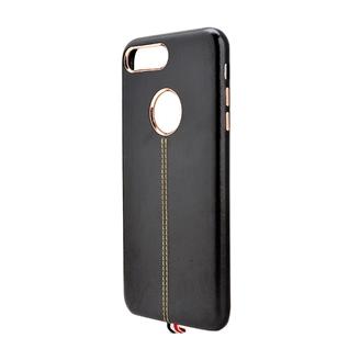 Cùng Mua - Op lung da cao cap cho Iphone 7 Plus mau den