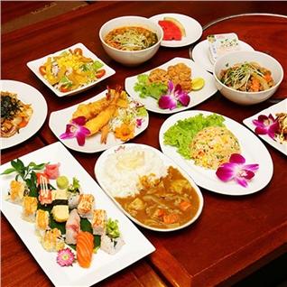 Cùng Mua - Set lunch hao hang 8 mon lua chon -NH Dong Kinh - Hana Mizuki