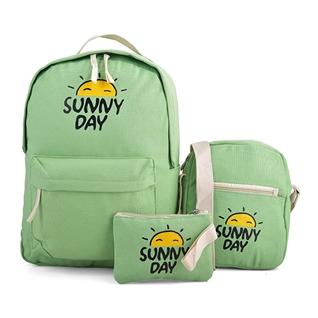 Cùng Mua - Set ba tui Sunny xanh la H15