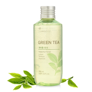 Cùng Mua - Nuoc hoa hong Green Tea Waterfull Toner The Face Shop 150ml