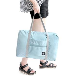 Cùng Mua - Tui xach du lich xep gon dung tren vali keo loai 1 xanh nhat