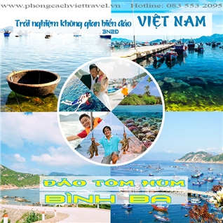 Cùng Mua - Tour Binh Ba 3N2D - xe giuong nam - lan ngam san ho