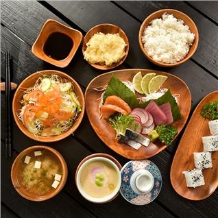 Cùng Mua - Tuy chon 1 trong 4 set an Nhat Ban tuyet ngon lai Sushi Cuoi