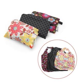 Cùng Mua - Combo 3 tui shopping chong tham nuoc in hoa tiet hoa xinh xan