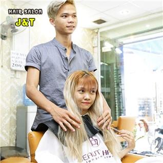 Cùng Mua - Goi lam toc cao cap + Hap dau + Dap mat na - Hair Salon J va T