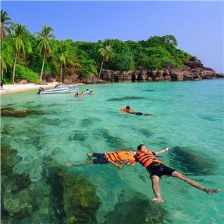 Cùng Mua - Tour Phu Quoc 3N2D + ve may bay khu hoi, nghi resort 4 sao