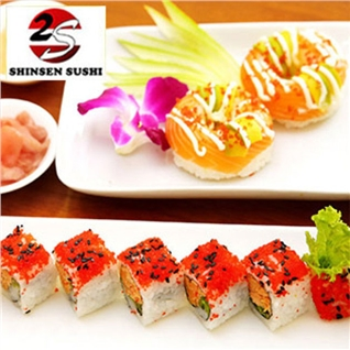 Cùng Mua - Combo Sushi Donut tai Shinsen Sushi