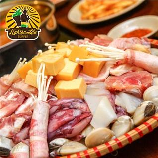 Cùng Mua - Set lau hai san thap cam cho 2- 4 nguoi - Nha hang Nghien Lau