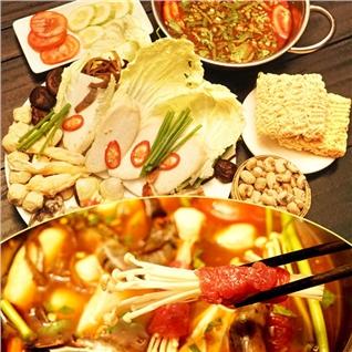Cùng Mua - Uu dai cac loai lau lon cho 2 nguoi tai nha hang It's BBQ