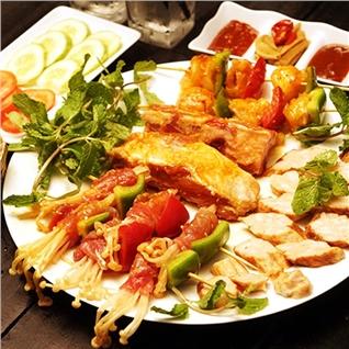 Cùng Mua - Combo xien nuong danh cho 2 nguoi tai nha hang It's BBQ