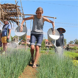 Cùng Mua - 1 ngay tai Nong Trang Xanh - hanh huong Nui Ba - Toa Thanh