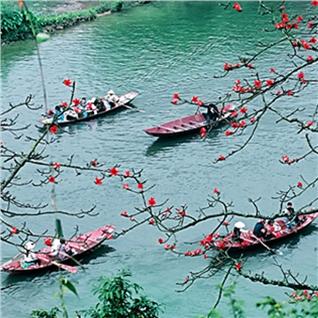 Cùng Mua - Tour tham quan Chua Huong – Nam Thien De Nhat Dong