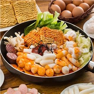 Cùng Mua - Buffet Tokbokki cho tin do me mon an Han Quoc tai You+