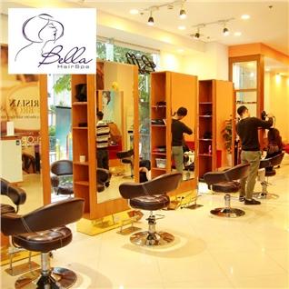 Cùng Mua - Combo goi dau Bio+ Cham soc da mat co ban - Bella Hair Spa