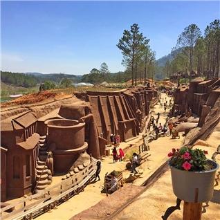 Cùng Mua - Tour du xuan Da Lat - ngam dao khoe sac 3N2D
