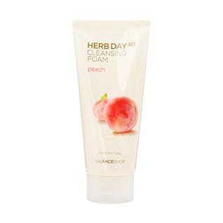 Cùng Mua - Sua rua mat nhap khau The Face Shop Herb Day 365 - peach