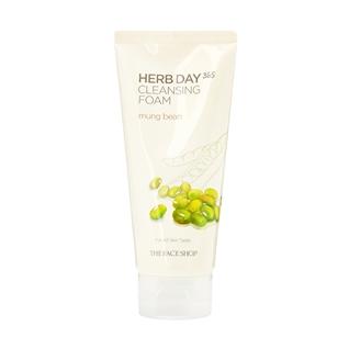 Cùng Mua - Sua rua mat nhap khau The Face Shop Herb Day 365 - dau xanh