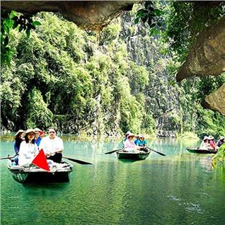 Cùng Mua - Tour Ha Noi – Hoa Lu – Tam Coc 1N - Buffet trua - free xe dap