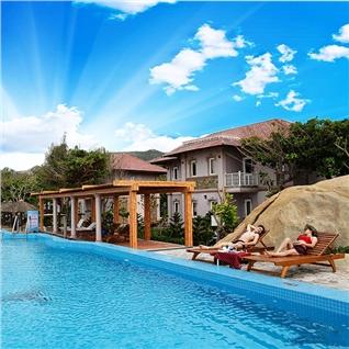 Cùng Mua - Gia shock - Resort Thuy Duong Long Hai 3* - An sang