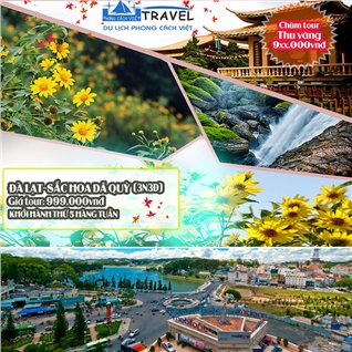 Cùng Mua - Tour kham pha net dep Da Lat - kham pha rung hoa da quy 3N3D