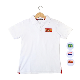 Cùng Mua - Ao thun nam trang phoi logo co 001