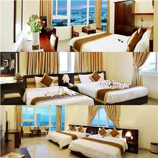 Cùng Mua - Gia Linh Hotel 3* sat bien + Buffet sang tai Da Nang