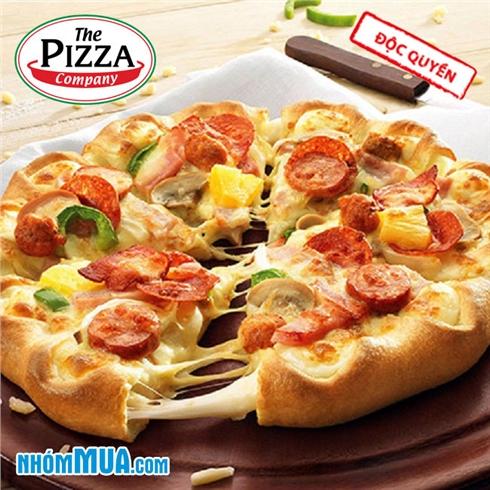 Ưu đãi toàn Hệ thống The Pizza Company - Thương hiệu thế giới