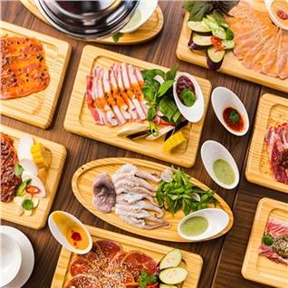 Cùng Mua - Buffet toi BBQ dac sac ngam pho di bo - NH Suon No.1