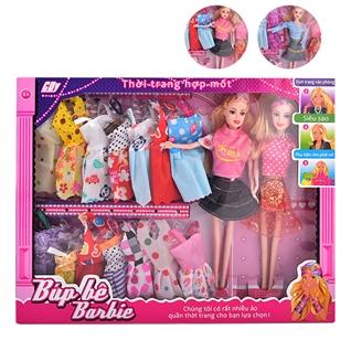Cùng Mua - Bo do choi bup be Barbie song sinh suu tap thoi trang