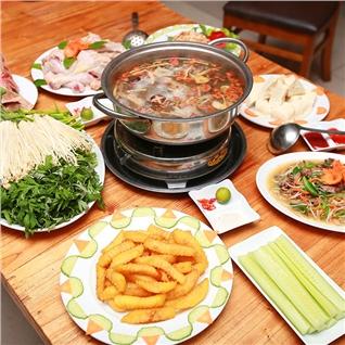 Cùng Mua - Thuong thuc lau ga tuyet ngon tai NH Quan Bac (4 nguoi)