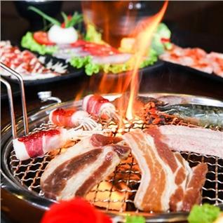 Cùng Mua - Buffet nuong lau Thai, tang coca- Thai BBQ Mipec Long Bien