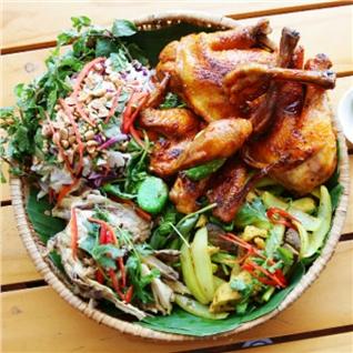 Cùng Mua - Ga len mam 4 mon (1.2kg) cho 2 - 4 nguoi tai Nha hang Flame