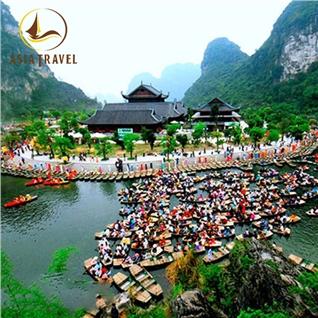 Cùng Mua - Tour Bai Dinh Trang An + Buffet Trua - 01 ngay (AD Tet Am)