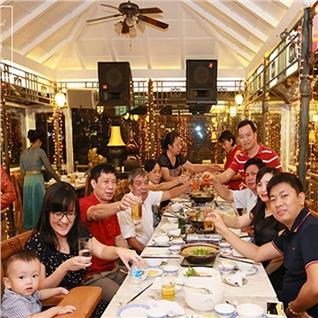 Cùng Mua - Thuong thuc 1 trong 5 set an hap dan-Dong Son Drum Restaurant