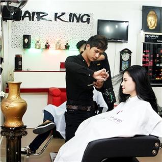 Cùng Mua (off) - Uon/Duoi/Nhuom/Bam xu collagen - Hair King Salon