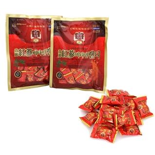 Cùng Mua - Combo 2 goi keo hong sam Korea red Ginseng Vitamin 200gr