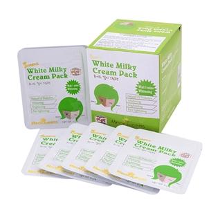 Cùng Mua - Hop 25 goi kem duong trang White Milky Cream Pack