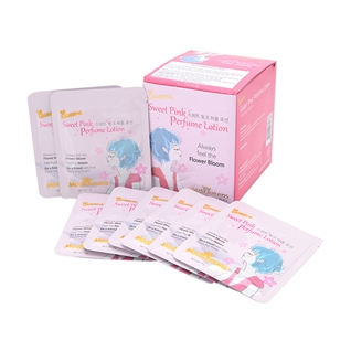 Cùng Mua - Hop 25 goi kem duong the Sweet Pink Perfume Body Lotion
