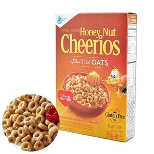 Cùng Mua - Ngu Coc Cheerios - Vi Mat ong, Hanh nhan (347gr/hop) - NK My