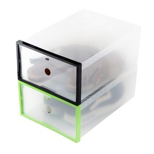 Cùng Mua - Combo 2 hop dung giay trong suot co khung cung cap