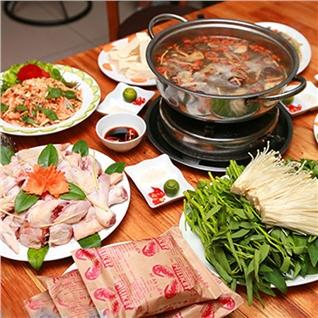 Cùng Mua - Thuong thuc set lau ga tai Nha Hang Cheo Cuisine (4 nguoi)