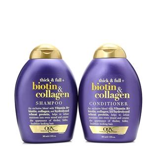 Cùng Mua - Dau goi - xa kich thich moc toc Biotin va Collagen OGX 385ml