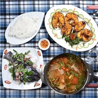 Cùng Mua - Set ca lang (1,5kg) che bien 2 mon nuong +Lau - NH Hai Dang 1