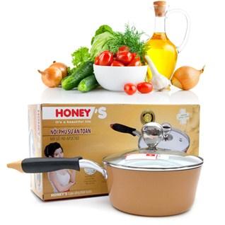 Cùng Mua - Noi phu su an toan Honey'S HO-AP2C182 (18cm) chuan Chau Au