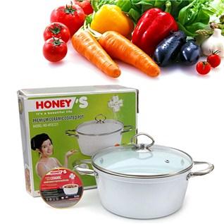Cùng Mua - Noi ceramic cao cap Honey'S HO-AP2C221 (22cm) chuan Chau Au