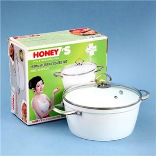 Cùng Mua - Noi Ceramic chiu nhiet Honey'S (24cm)
