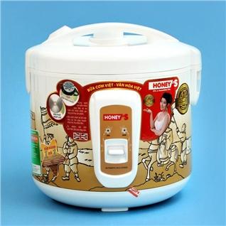 Cùng Mua - Noi com dien Honey's HO704-M18 (1.8L) tieu chuan Chau Au-BH 1