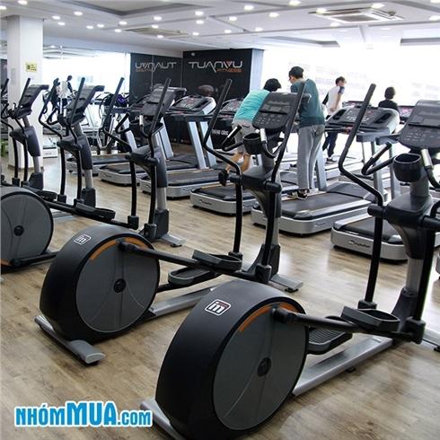 02 tháng tập Gym + Xông hơi - Hệ Thống Tuấn Vũ Fitness